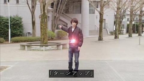 仮面ライダージオウ 29話 ブレイド変身シーン