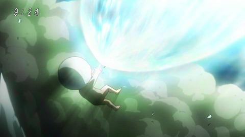 アニメ「ゲゲゲの鬼太郎」48話 指鉄砲を使う目玉おやじ