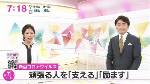 NHKおはよう日本「コロナウイルス 頑張る人を支える励ます」