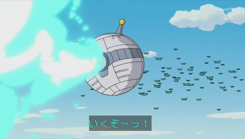 ドラえもん「天井うらの宇宙戦争」画像