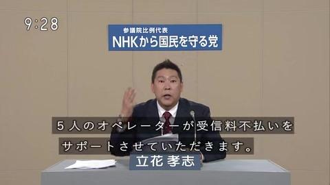 NHK 受信料不払い専用 コールセンター 電話番号
