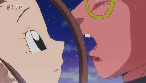 甘栗ココア 悟飯にキス
