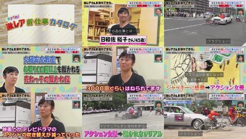 「チャリで来た」回 自転車スタント 日和佐裕子さん