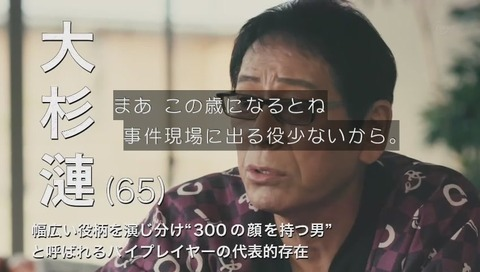 大杉漣 65歳