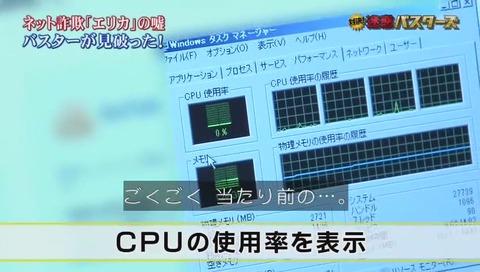 CPU使用率表示