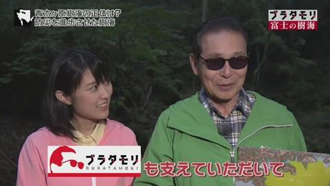 ブラタモリ 富士の樹海(青木ヶ原樹海 )(2575)