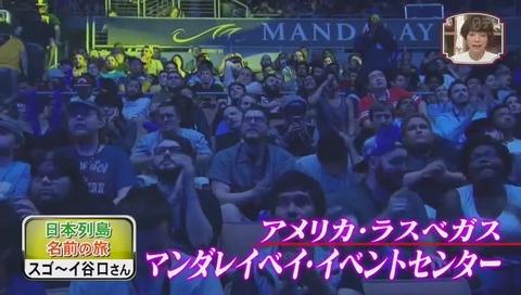 格闘ゲーム世界大会『Evolution』ラスベガスのマンダレイベイ・イベントセンター