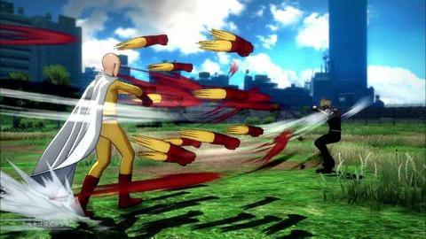 「ワンパンマン」ゲーム「ONE PUNCH MAN A HERO NOBODY KNOWS」映像