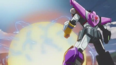 「おそ松さん」ロボットアニメ風