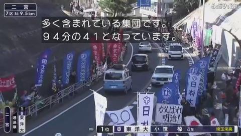箱根駅伝2019 フリーザ集団 画像