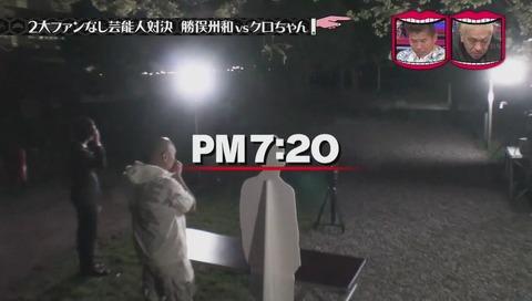 水ダウ 勝俣 クロちゃん ファンの数 検証