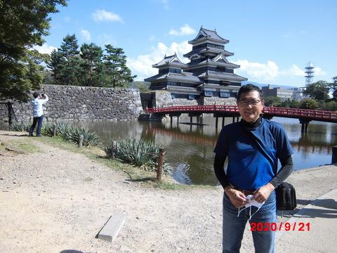 13松本城わたし