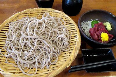 20190824IMG_2468松本城蕎麦+馬刺しSM