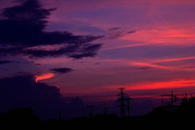 20110809DSCN2919夕焼けSM