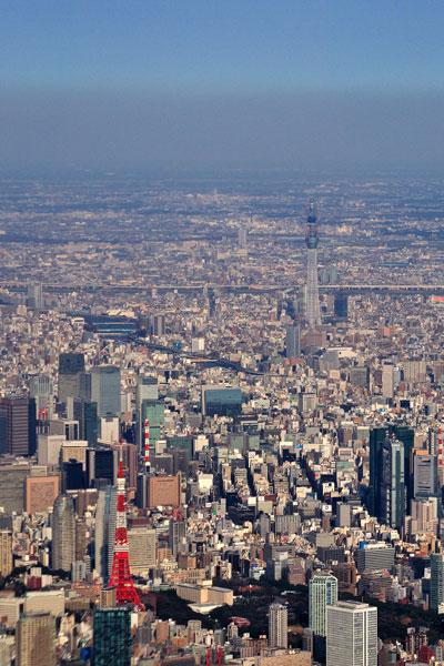 20101226東京タワーとスカイ