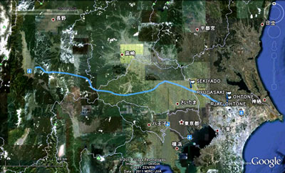 20111002松本GPS航跡SM