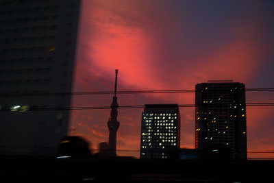 20111019DSCN3402夕焼けスカイツリーSM