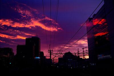 20111019DSCN3398夕焼けSM