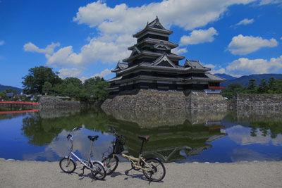 20190824IMG_2462松本城自転車SM