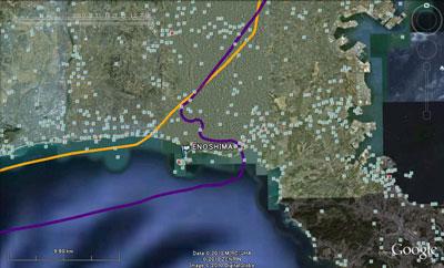 20101120江の島付近GPS_SM