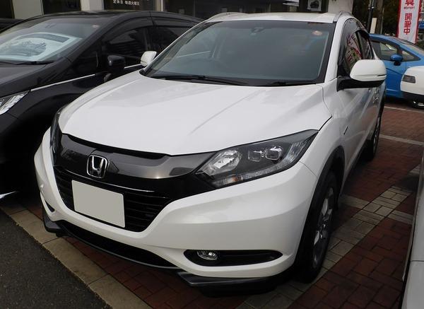 Honda_VEZEL_HYBRID_X_(RU3)_front