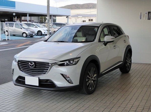 Mazda_CX-3_XD_Touring_L_Package_(DK5)_front