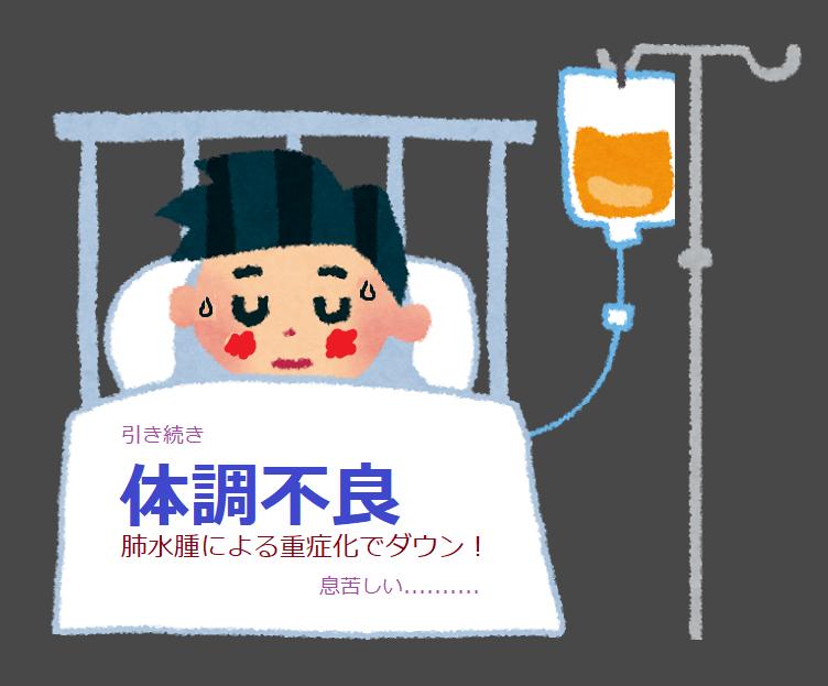 入院、点滴(重症)