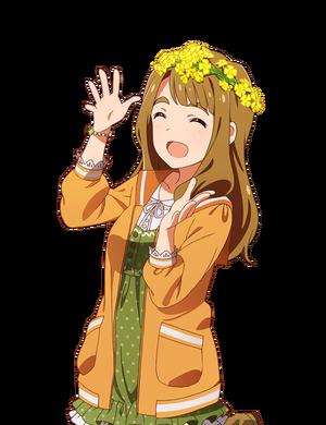 黄色の花かんむり 最上静香+美也