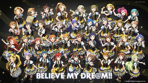 (壁紙3) BELIEVE MY DRE@M!!