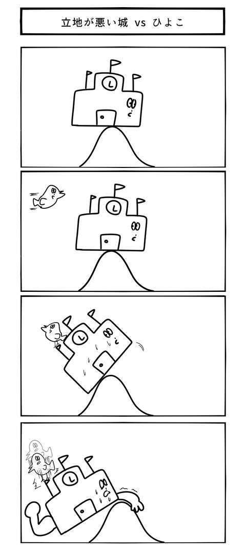 立地が悪い城