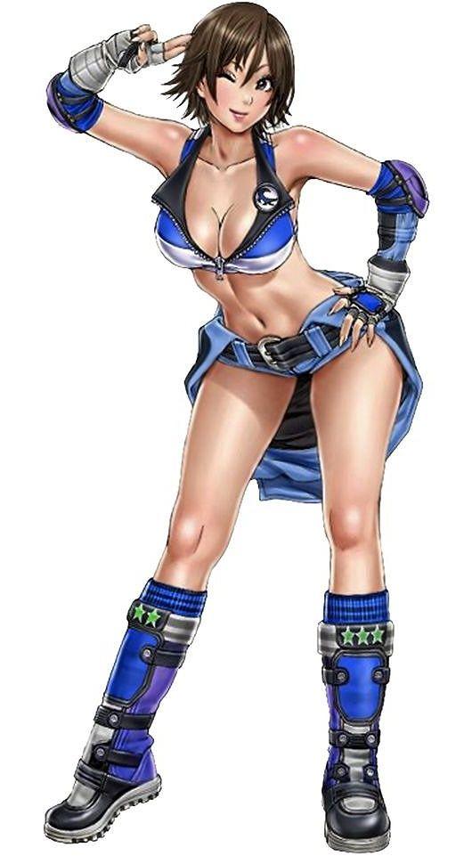 【画像】格闘ゲームのエロい女キャラで抜いたことある奴wwww