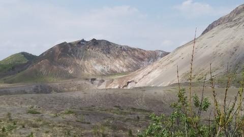 有珠山火口原