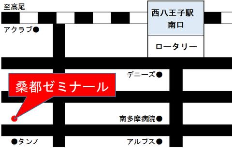 桑都ゼミナール地図