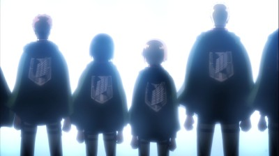 進撃の巨人 第16話 調査兵団の制服