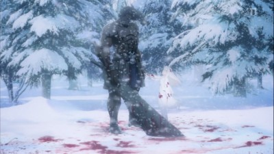 (アニメ) Fate/stay night UBW 第15話 イリヤとバーサーカー