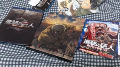 進撃の巨人のBD第2巻が届いた その2