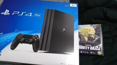 今週(先週)の買い物 DAZE2&PS4 Pro