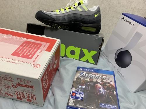 ビックの福袋、95イエローグラデ、PS5ヘッドセットなど 最近の買い物
