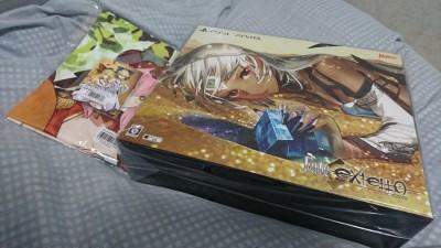 先週の買い物 Fate/EXTELLA VELBER BOX