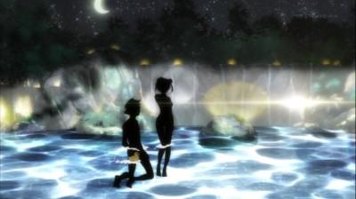 (アニメ) ニセコイ 第9話 オンセン
