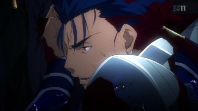 (アニメ) Fate/stay night UBW 第20話 ランサーの最期