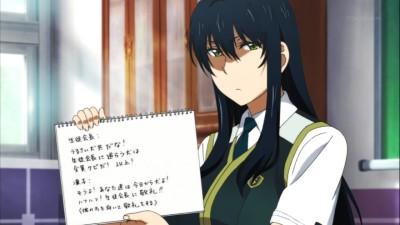 (アニメ) ウィッチクラフトワークス 第6話 副会長カガリさん