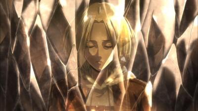 進撃の巨人 第25話 アニは再び目覚めるのだろうか