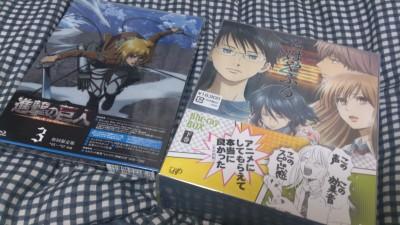 進撃の巨人 BD第3巻特典 ビジュアルノベル「ミカサ外伝」