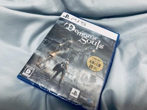PS5 デモンズソウルのリメイク版が届いたぞー・・・