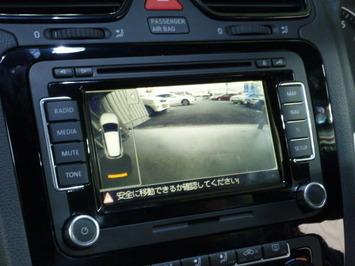 VWシロッコ バックカメラ画像