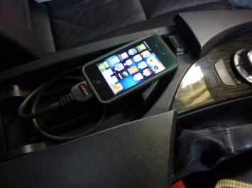 BMW E60 iphone