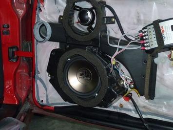 SL  R129 スピーカー交換