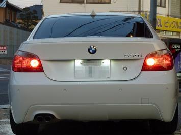 BMW E60 ライセンスプレート