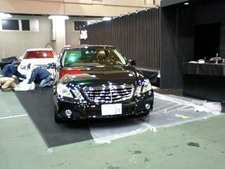 金沢輸入車ショー 搬入